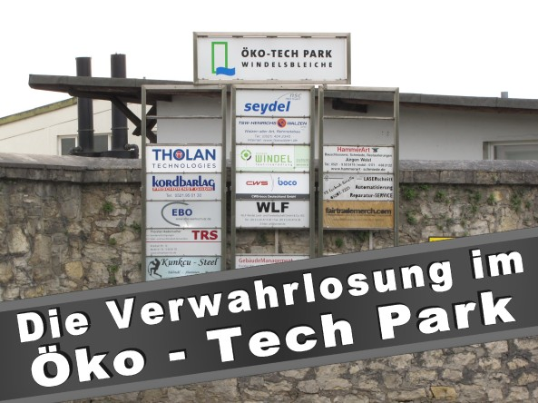 Windel Bielefeld Öko Tech Park Krackser Straße 12 Windelsbleiche (Senne) Nordrhein-Westfalen TexTeam Windel Textilveredelung Bielefeld Gewerbepark Industriegegiet